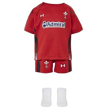 Accesorios para disfraz de bebé de Rugby de Gales, color rojo ...