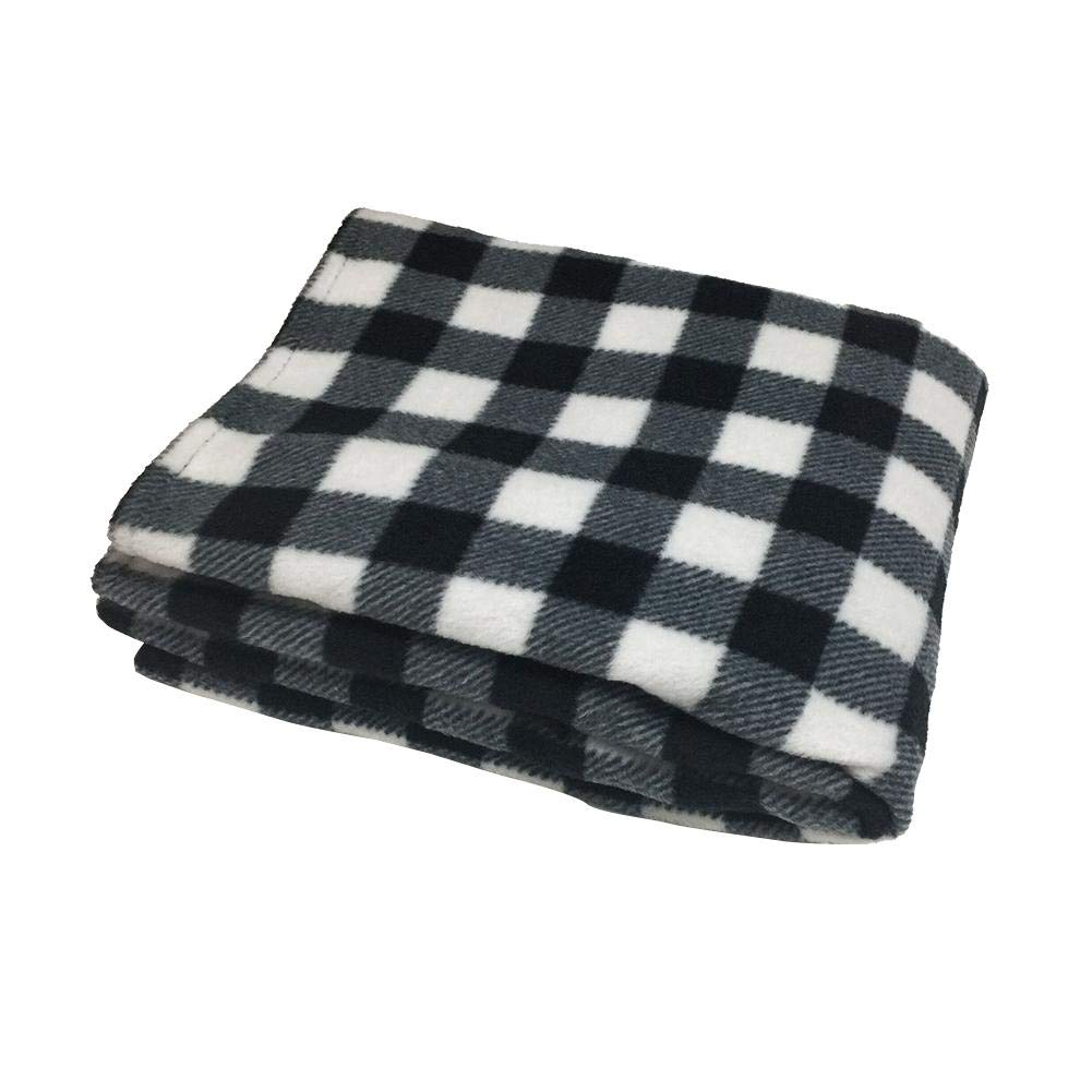 SHZONS Electric Heating Blanket,12V Lattice Fleece Car Supplies Winter Hot Car Constant Temperature Heating Blanket for Travel Camping Picnic Heater 145x100cm