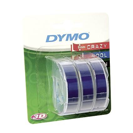 Dymo 3D Label Tapes - Cinta Para Impresora de Etiquetas - Cintas Para Impresoras de Etiquetas (Ampolla, 3 M, 89 Mm, 105 Mm, 50 Mm, 40 (Tbc))