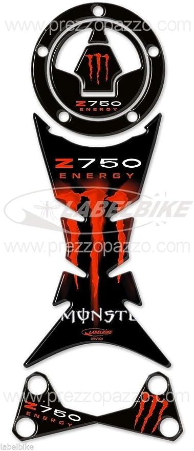 Kit de Pegatinas Resina Gel 3D Compatible con Kawasaki Z 750 de ...