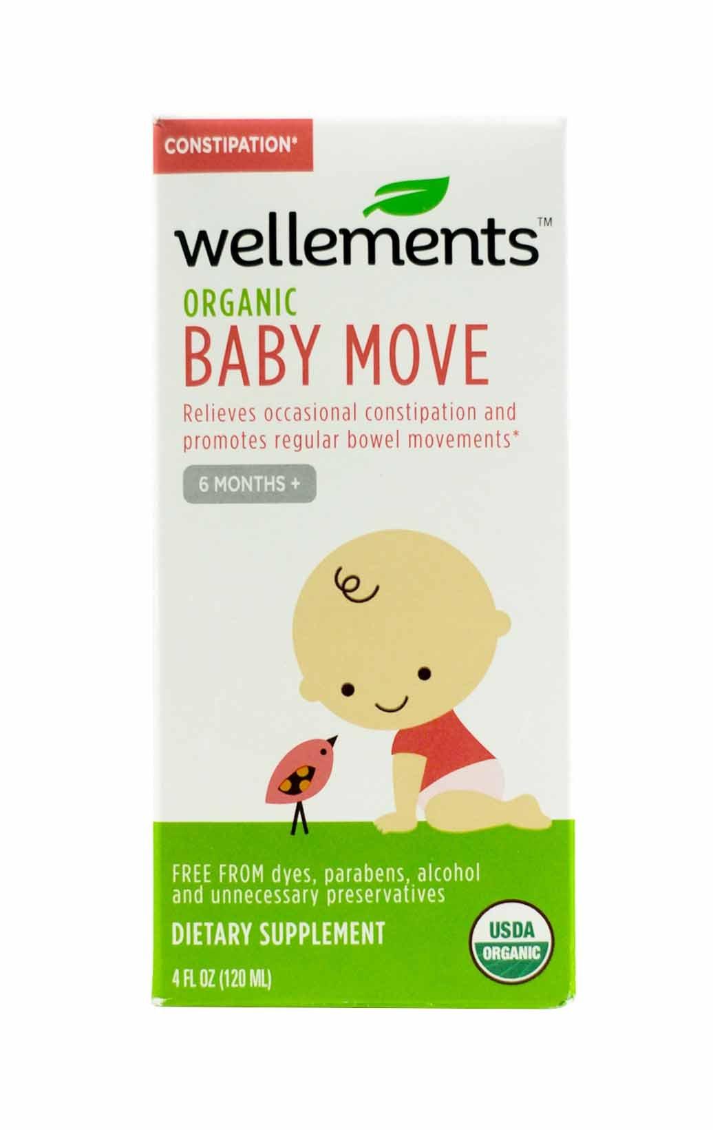 Wellements Baby Move - 4 oz