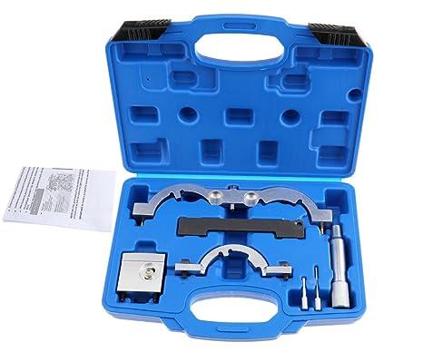 7 x cadena de bloqueo del cigüeñal Turbo maletín con juego de herramientas para Mokka zafira