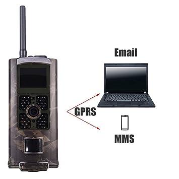 Cámara Caza,Cámara vigilancia caza con HD 16MP de Imagen y 1080P de camara de
