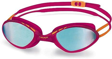 f7bcc24dd175 Head Tiger Mid Race Mirrored - Occhialini da Nuoto, Unisex, Pink ...