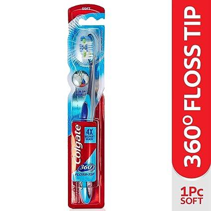 Colgate 360 flosstip suave cepillo de dientes
