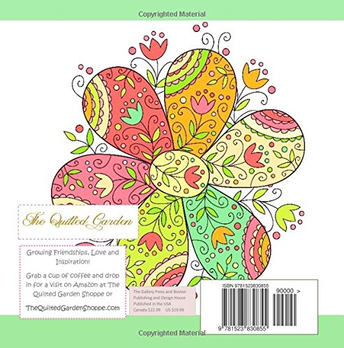 Flowers Adult Coloring Books Flower Garden In All D