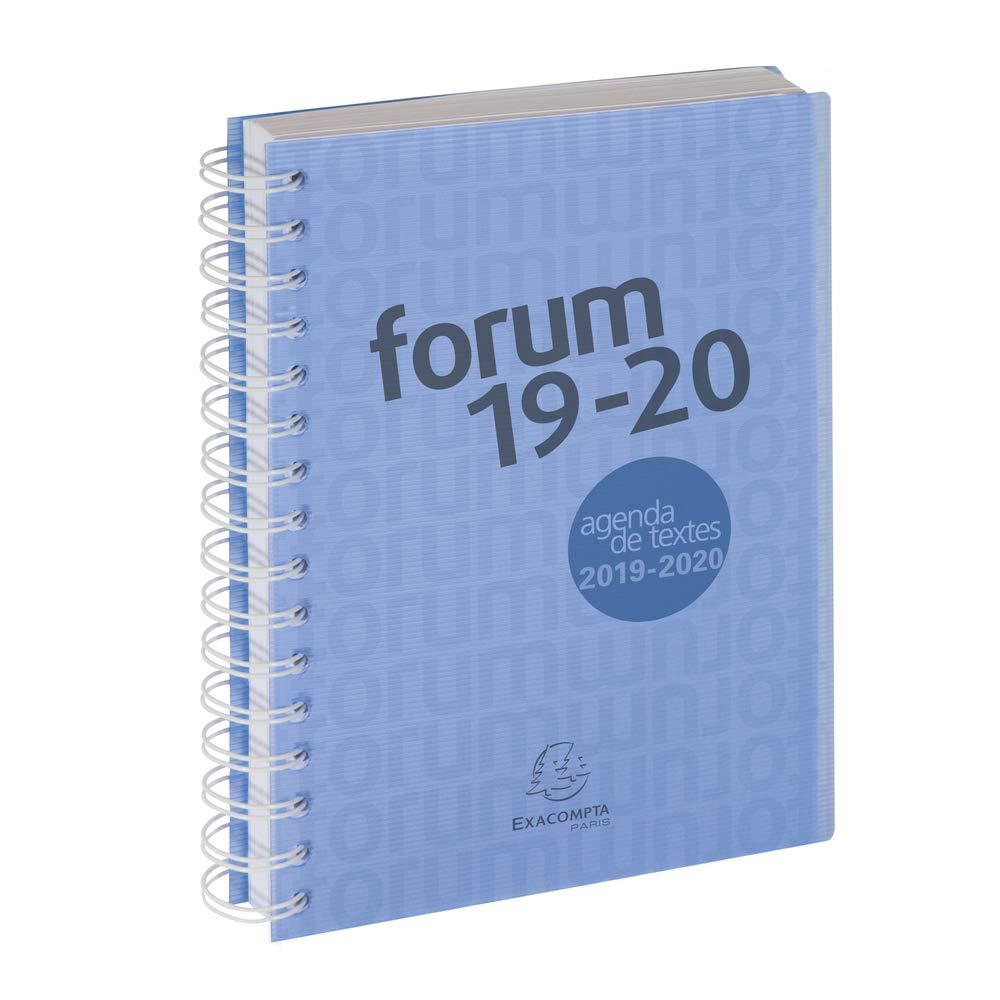 Exacompta 214172e Forum Office Linicolor Agenda (en espiral ...
