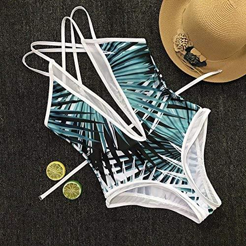 Dimensione europa Bikini M Di Stampato Pizzo Stati bikini Uniti Un Oudan colore Intero Bikini S Garza Pezzo E In PadTWxH
