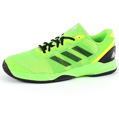3c76331e24d Adidas - Stabil J - Baskets mixte - Vert fluo   Jaune   Noir - 39 1 ...
