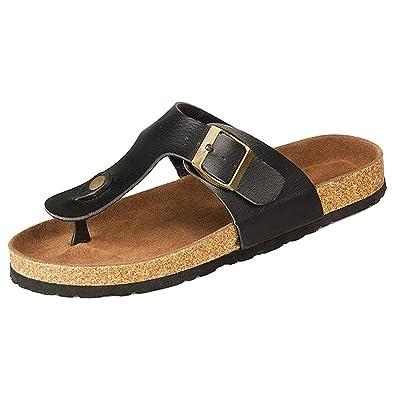 c4110337c591f TOOGOO R New Cork Flats Sandals Men and Women Summer Flip Flops Unisex  Casual S: Buy Online at Low Prices in India - Amazon.in