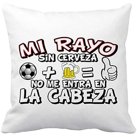 Cojín con Relleno Mi Rayo sin Cerveza no me entra en la ...