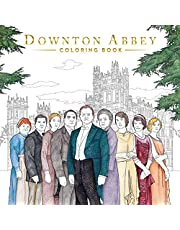 Downton Abbey: The Official Coloring Book (Gold Foil Gift Edition)