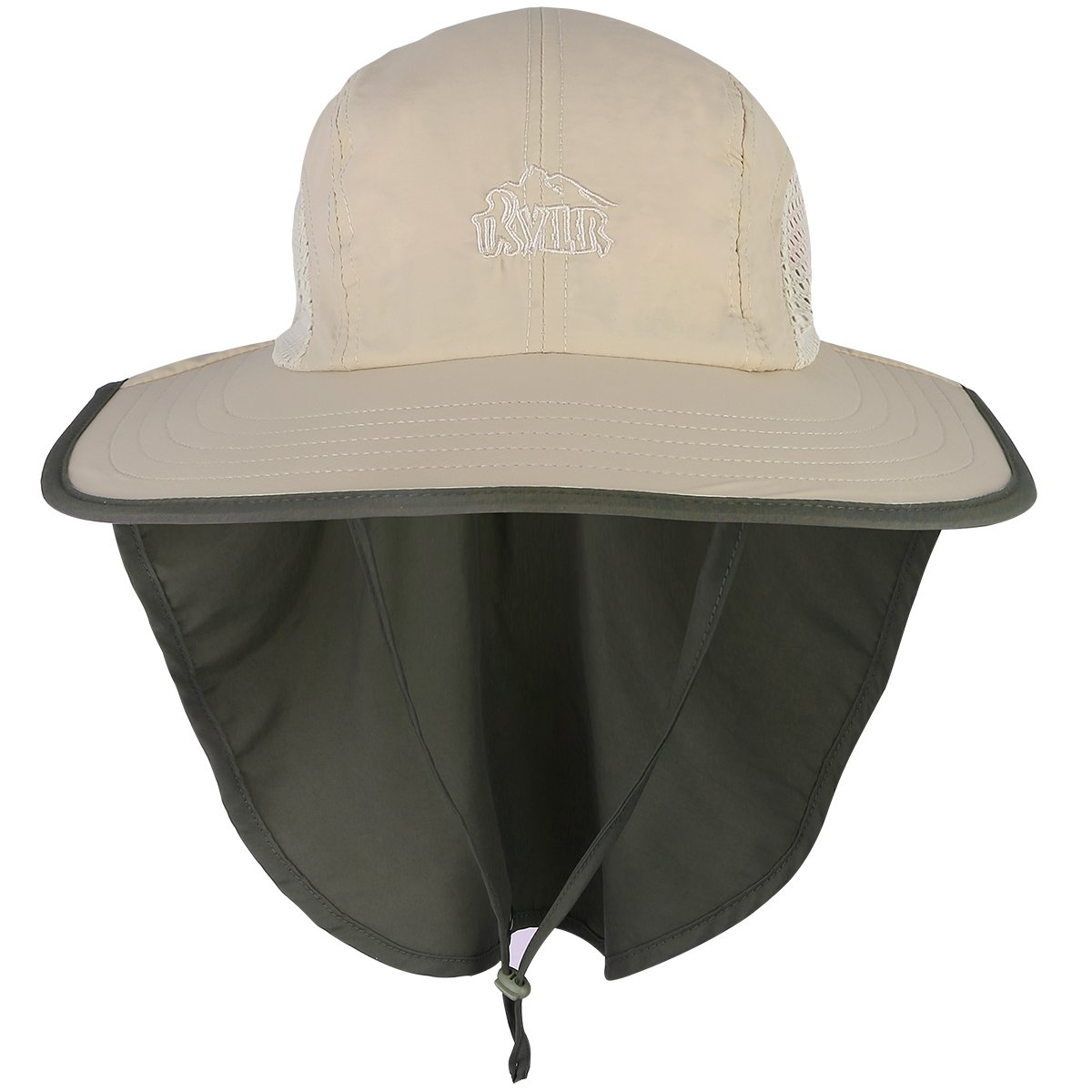 59ce9b44502ca G4Free Sombrero del Sol Gorra al Aire Libre 360°UV UPF 50+ Transpirable  Protege Cuello para la Pesca Senderismo Acampar Caza Diaria Actividades  Unisex  ...