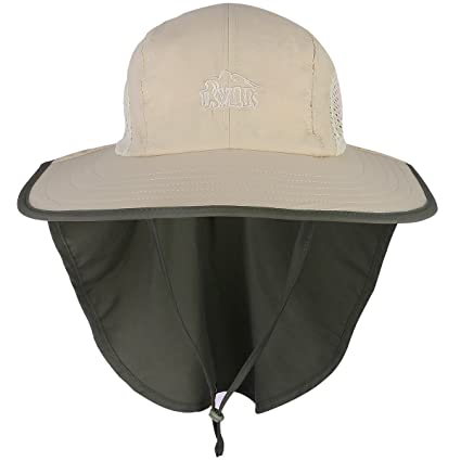 Amazon.com   G4Free Outdoor Sun Protection Fishing Cap with Neck ... e48e5736db98