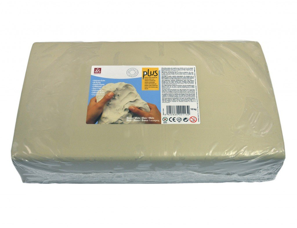 PASTA PER MODELLARE PLUS - BIANCO 10 KG. SIO-2
