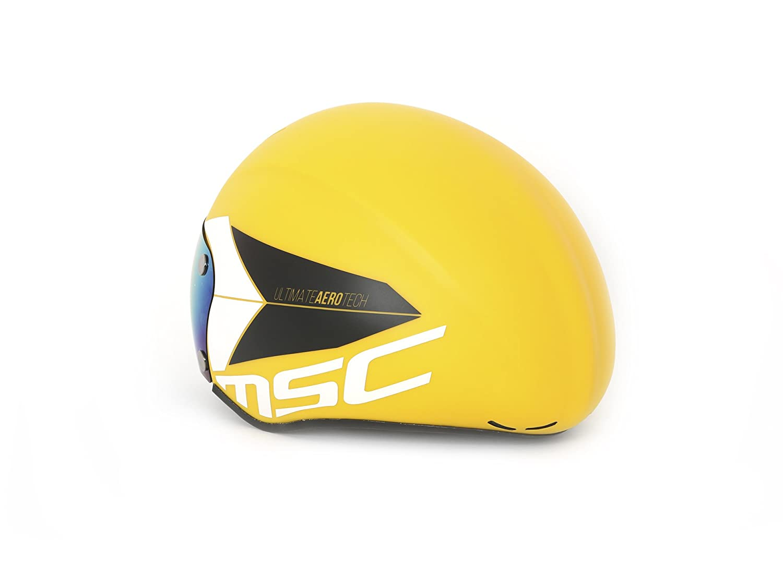 Amarillo M//L MSC Bikes Aero Casco de Ciclismo