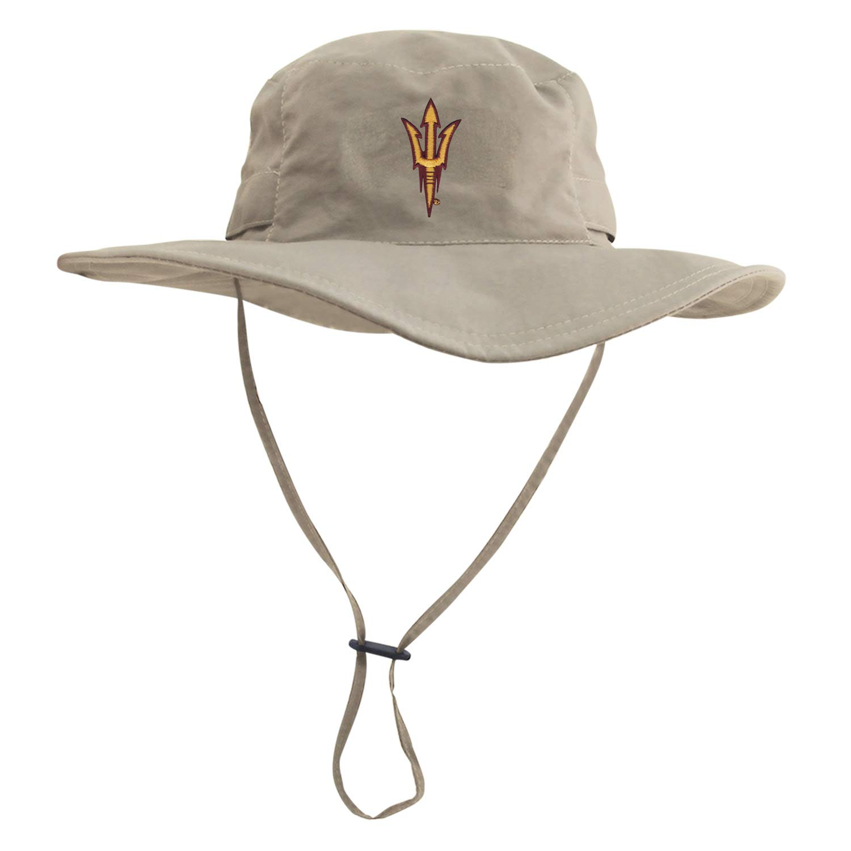 4a6b7fc42 Amazon.com : Arizona State University Sun Devils Tan Boonie Sun Hat ...