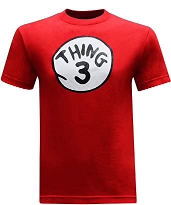 ee307826 DR SEUSS CAT IN THE HAT THING 1,2,3,4,5 AND 6 T-SHIRT XS-XL(CHILDREN ...