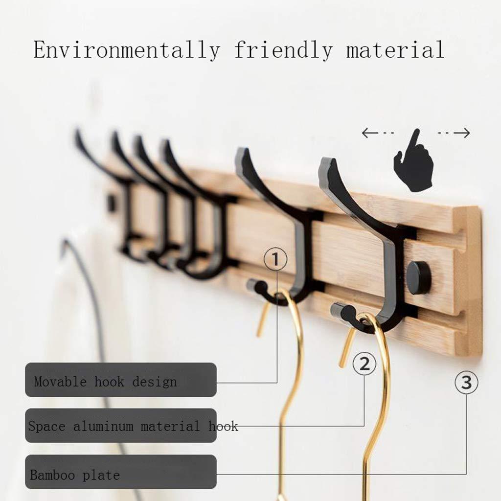 Amazon.com: Wall - Perchero de madera maciza para colgar ...