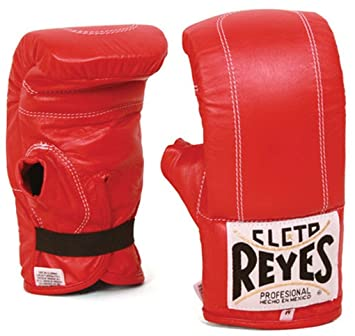 Cleto Reyes Pink leather Velcro Sparring Gloves