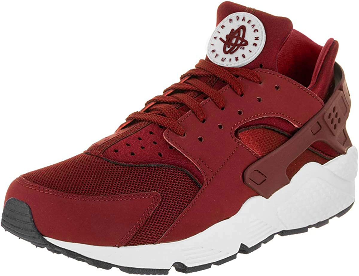 Nike Schuhe Air Huarache team red team red white black