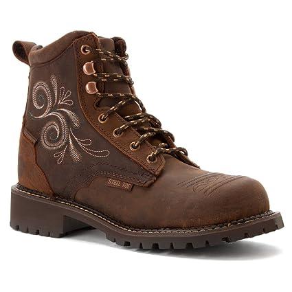8dfb9dcdba6 Justin Ladies Gypsy Steel Toe Wtrprf Work Boots