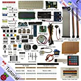 Freenove Ultimate Starter Kit for Raspberry Pi | Beginner Learning | Model 3B+ 3B 2B 1B+ 1A+ Zero W | Python, C, Java, Processing | 57 Projects, 401 Pages Detailed Tutorials, 220+ Components