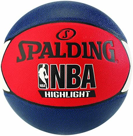 Spalding NBA Highlight Outdoor 83-573Z Balón de Baloncesto, Unisex ...