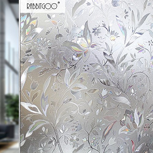 rabbitgoo 3ft x 3d no glue static decorative frosted.htm best window films products by cottoncolors  artscape  fancy fix  best window films products by