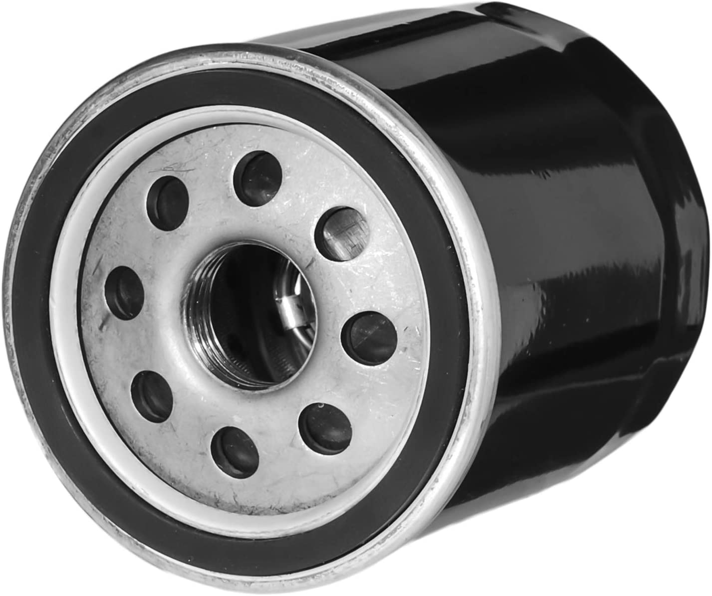 HIFROM 11013-7038 Air Filter Fuel Filter Spark Plug Oil Filter Kit for Kawasaki FX751V FX801V FX850V FX921V FX1000V John Deere Z830A Z850A Z860A Z925 Z930 Z950 Z960 Z970