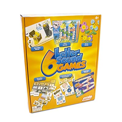 Junior Learning Different Letter Sound Games (Set of 6): Toys & Games