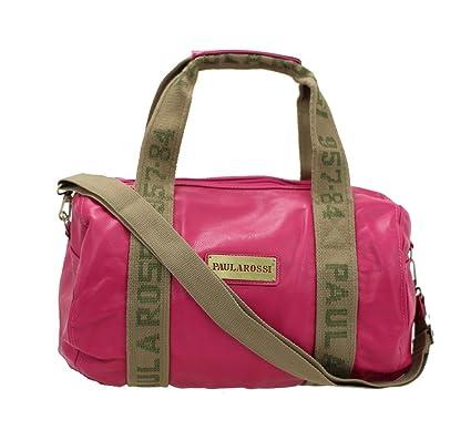 125522315 Paula Rossi - Bolso estilo bolera para mujer, rosa (Rojo) - 2879-2 ...