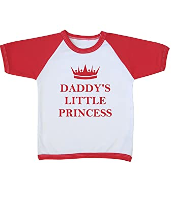 6f68c181a BabyPrem Baby Daddy s Little Princess Clothes Raglan T Shirt 3 - 4 ...