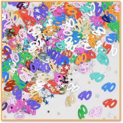 40th Birthday Confetti - 2