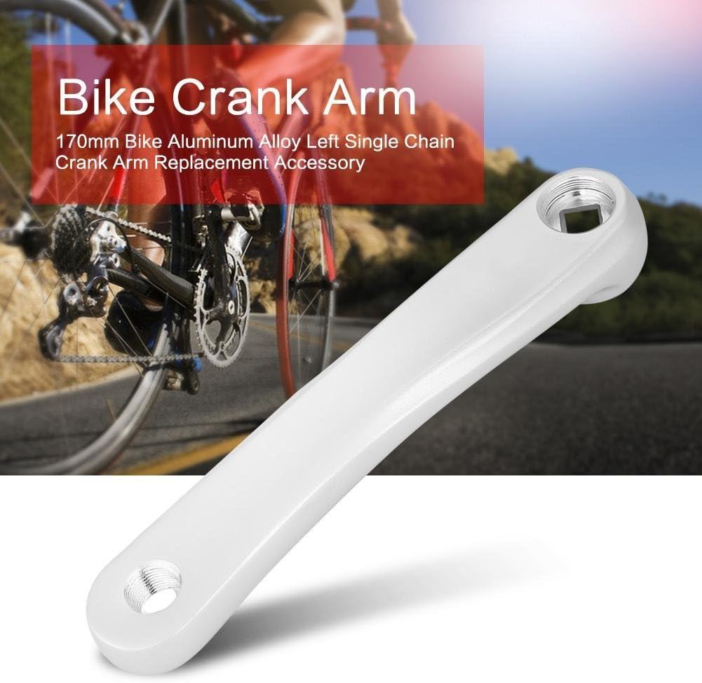 Fahrrad Crank Arm 170mm Aluminiumlegierung Fahrrad Links Hand Crank Arm Kette Set f/ür MTB Stra/ße Mountainbike