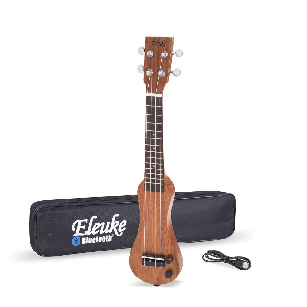 EleUke Smart Bluetooth Connectable Electric Ukulele Peanut