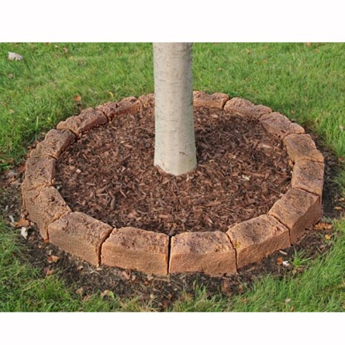 Dekorra Simulated Stone Block Edging Kit & Tree Ring