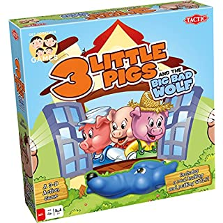 Tactic Games US 3 Little Pigs Board Game