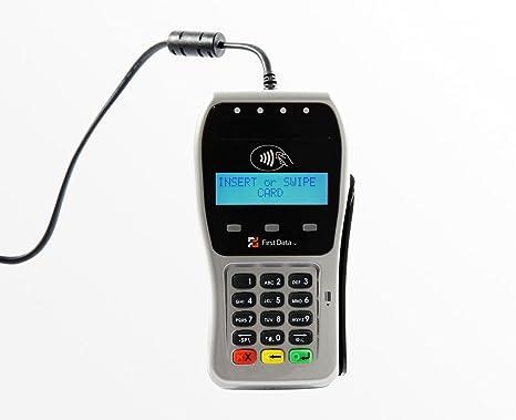 NIB First 1st Data Credit Card Reader Swipe Pin Pad Pinpad Model FD-35 Portable