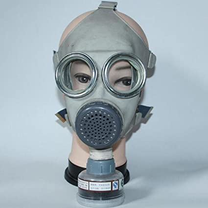 Anti-virus máscara Pintura Fuego Cobertura total Antipolvo Máscara de protección laboral