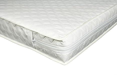 Direct2mum Fibra de coco y lana cama colchón de muelles para cuna 140 x 70 cm