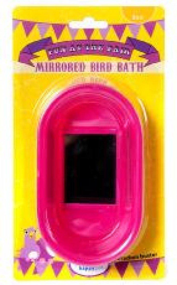 Fun At The Fair Mirrored Bird Bath Happy Pet 46459