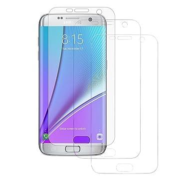 Mondpalast ® Protector de Pantalla Película protectora x3 para Samsung Galaxy S7 s7 S VII G930F