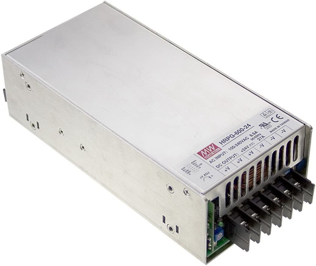 Mean Well HRP-600-7.5 7.5V 80A 600W Single Output with PFC Function Power Supply PowerNex