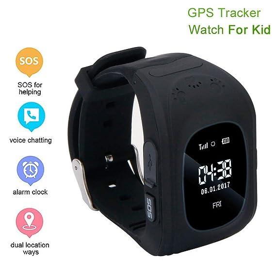 Amazon.com: Weardear Kids GPS Smartwatch, Anti-Lost Smart ...