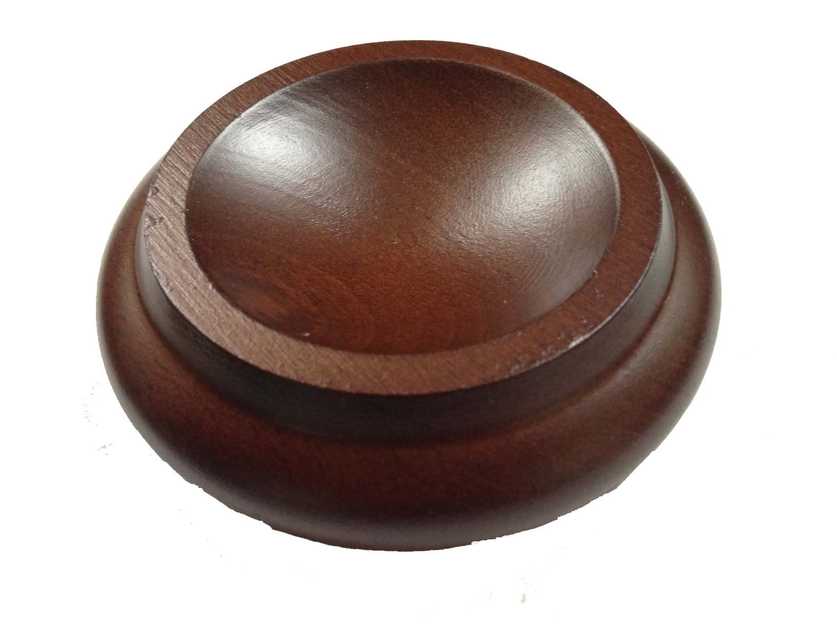 Hardwood Piano Caster Cups, Set of 4 - Mahogany by Caster Cups Ltd (Image #1)