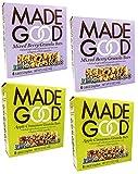 Made Good Granola Bars Variety Pack of 4 (24 Bars) Apple Cinnamon and Mixed Berry