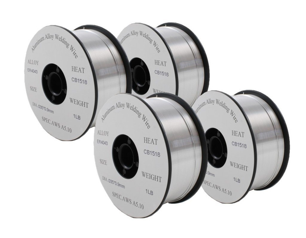 ER4043 - MIG Aluminum Welding Wire - 1 Lb x 0.035\