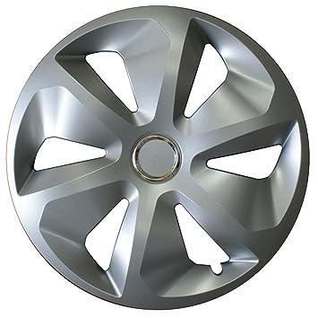 CORA 41145 Box ROCO Ring - Tapacubos (15 Pulgadas), Aspecto de Aluminio