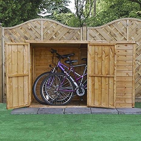 Nova 6 x 3 cobertizo de bicicleta Store – Entrega rápida cobertizos – Cobertizos